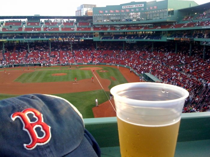 3. ...but don't buy a beer at Fenway. The lines and prices are notoriously awful.
