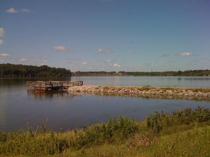 8. Lake Sugema, Van Buren County