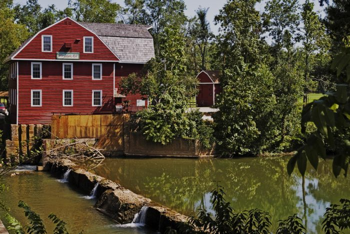 12.	War Eagle Mill (Rogers)