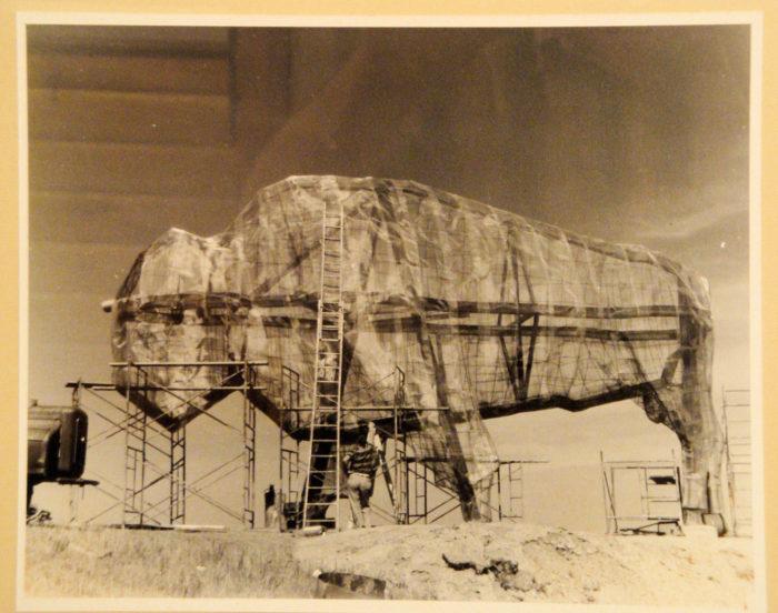 4. World's Largest Buffalo statue, Jamestown