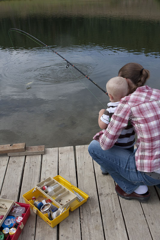 14. Go fishing at Fairview Lake.