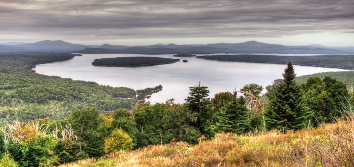 3. The Height of Land near Rangeley will give you something to dream about.