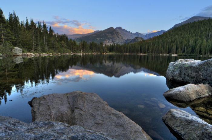 3. Bear Lake (Rocky Mountain National Park)