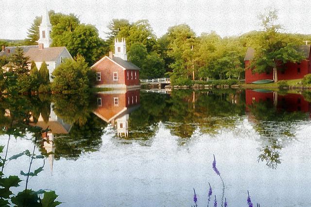 8. Harrisville Historic District, Harrisville