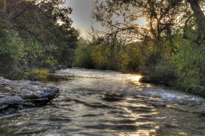 12. Dip your feet in Bull Creek.