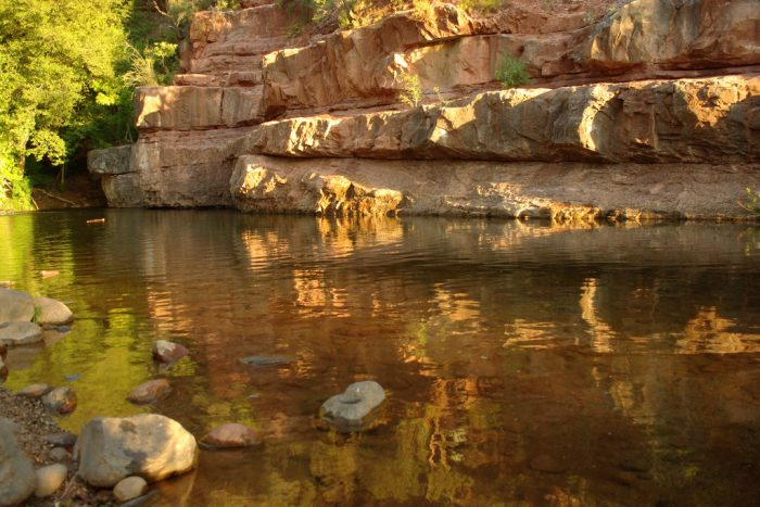 6. Visit a local swimming hole, creek, or river.