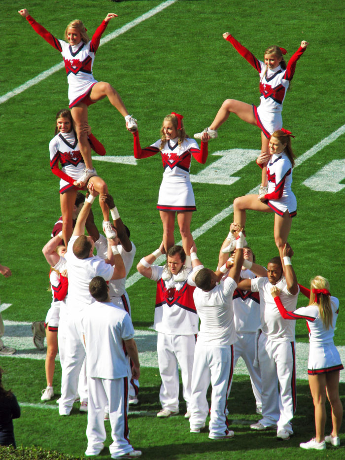 """4. Attending an Ole Miss game in Oxford? Better be cautious when cheering because the city has a law on the books that says it is """"illegal to cheer unless there's a reason to."""""""