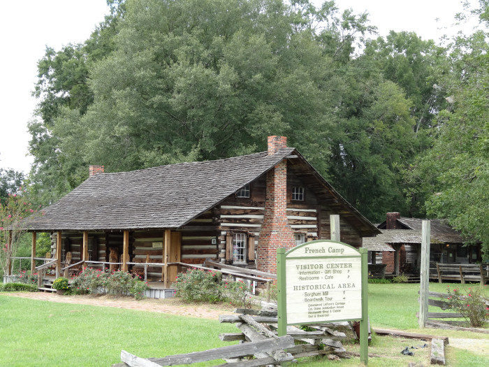 French Camp Historic District, Milepost 180.7 On The Natchez Trace Parkway