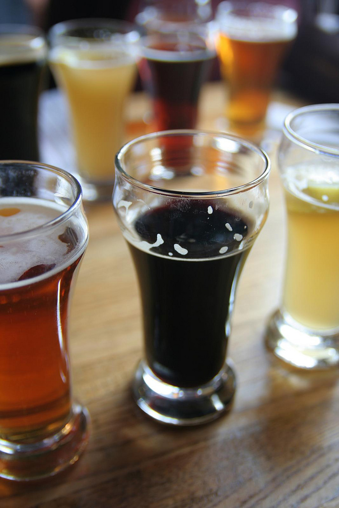 4. Between anyone and their craft beer.