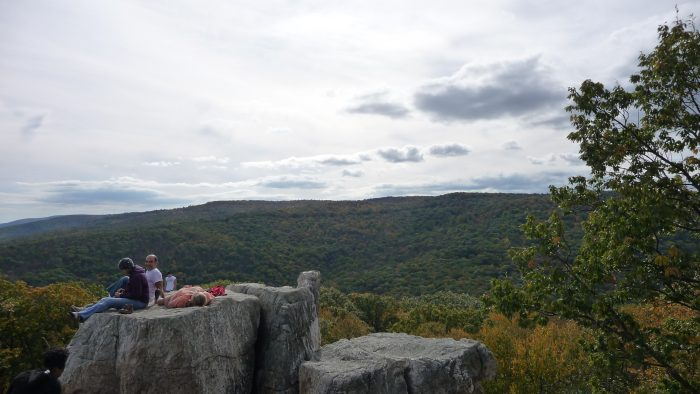 9. Catoctin Mountain is where you'll find the unique rock formations of Chimney Rock.