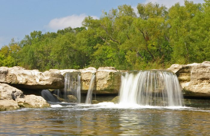 4. Mckinney Falls State Park is probably the best place for you to catch tons of waterfalls.