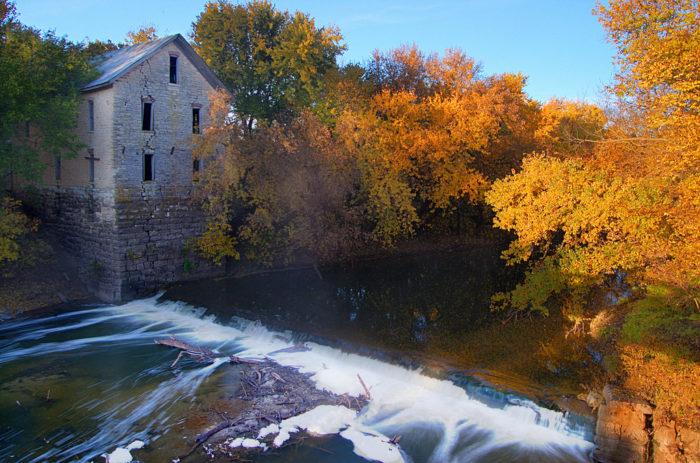 9. Drinkwater & Schriver Flour Mill (Cedar Point)