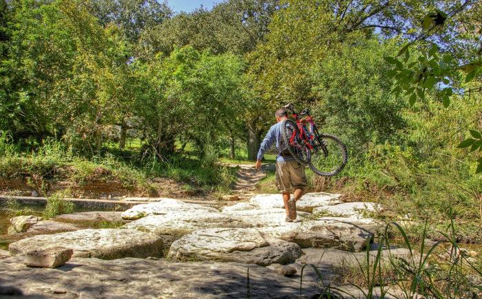 2. Explore the massive Greenbelt nature trails.
