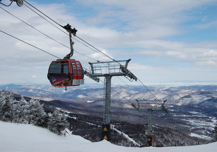 See what the world looks like from above at Killington Peak.