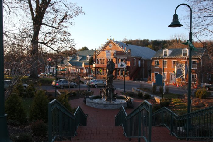 2. The historic district is lovely