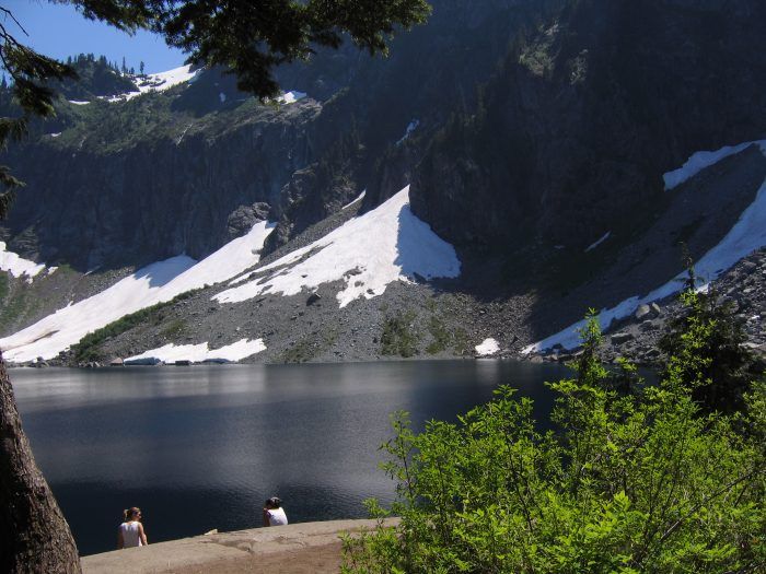 4. Lake Serene (& Bridal Veil Falls)
