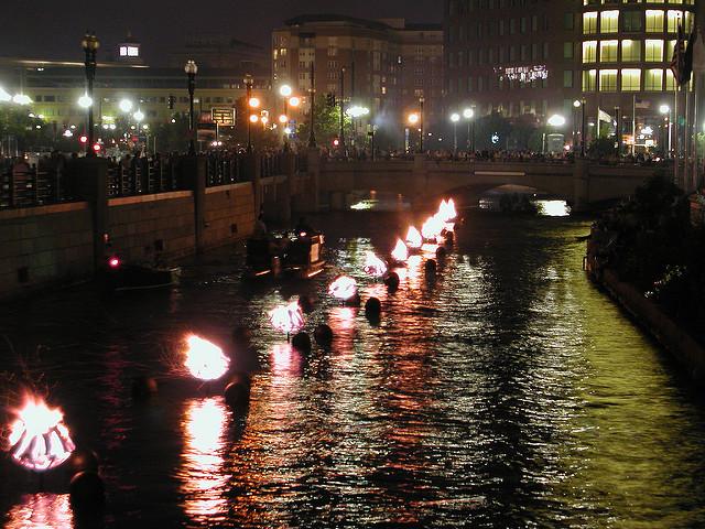 4. Providence Waterfire
