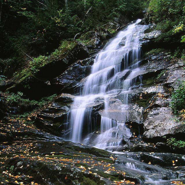 1. Stare in awe at Beaver Brook Falls.