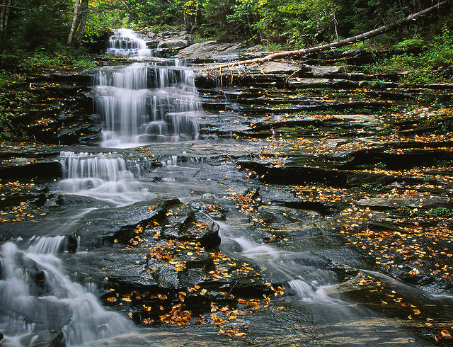 8. Beaver Brook Cascades, Kinsman Notch