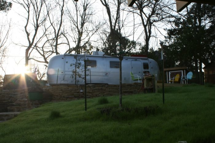 10. Go to Airbnb.com and rent out an Airstreamer for a truly low-budget and unique stay in Austin.