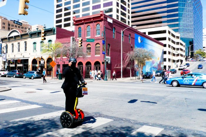 15. Do a Segway tour of Austin...it's the most fun way to be a tourist here.