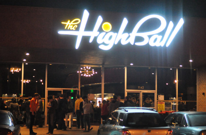 5. You can do all sorts of fun activities at The Highball, but step outside of your comfort zone and try some karaoke together!