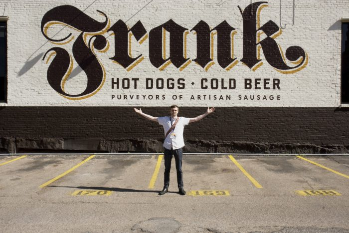 12. Frank's serves up the best dogs in town...hot dogs is what we mean!