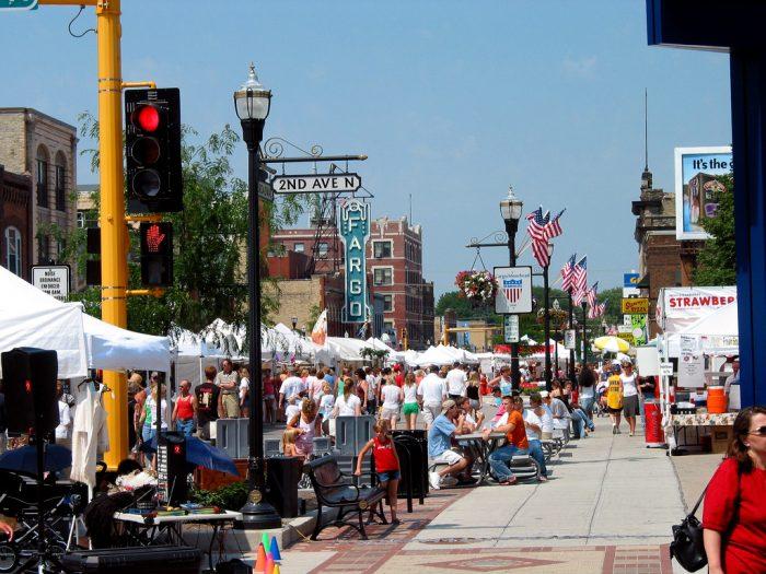 1. Go to an outdoor fair - street fair, county fair, state fair, any fair! There are tons all over the state all summer long.