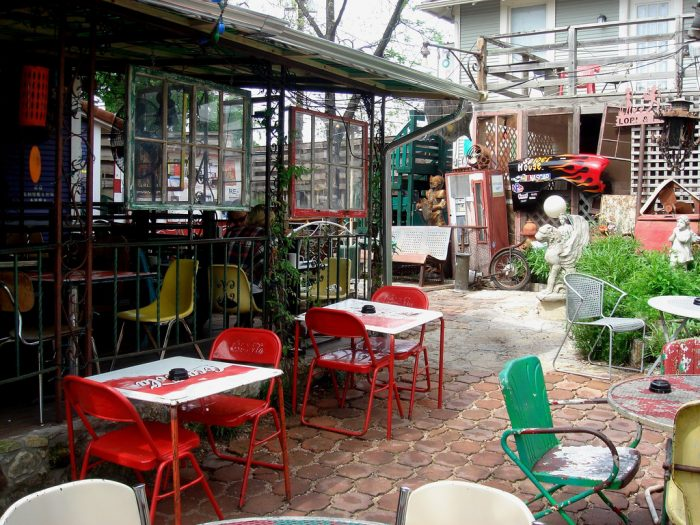 6. Spiderhouse is where you go for strong coffee, alcohol, food, and poetry slams...Open late nights!
