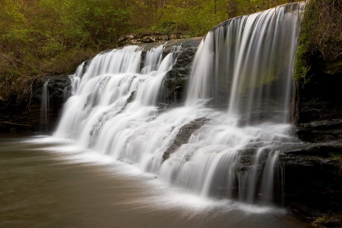 14. This is such a spectacular capture of Blount County's Mardis Mill Falls.