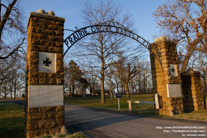 4. Do the Prairie Grove Battlefield driving tour.