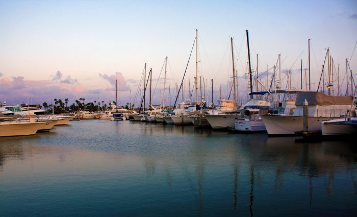 12. No matter what time of day you visit Point Loma Harbor, it's always the perfect time to snap a picture.