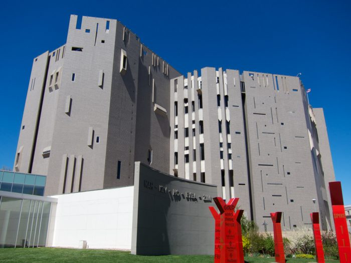 9. The North Building at the Denver Art Museum