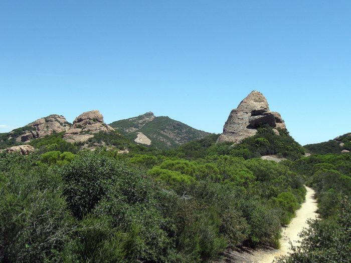 9. Sandstone Peak in the Santa Monica Mountains