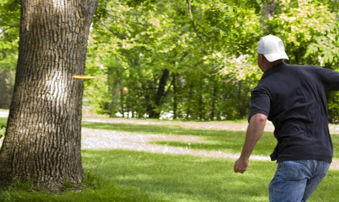 2. Play disc golf! There are many free courses throughout the state, several in regional parks, and all you need is the disc for hours of entertainment.