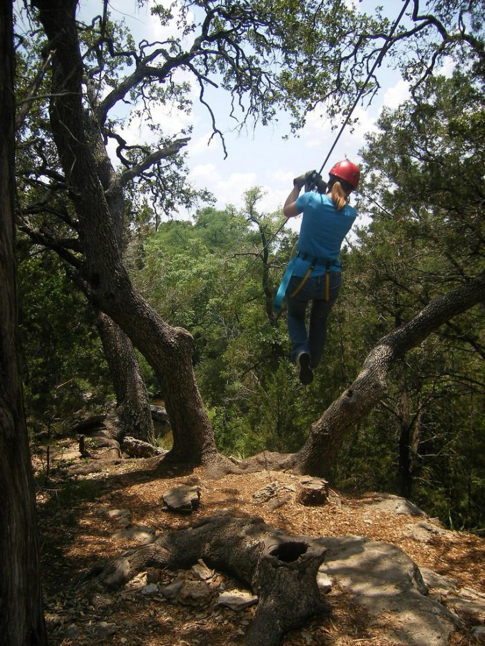 6. What better way to explore Austin than to zipline right above it all?