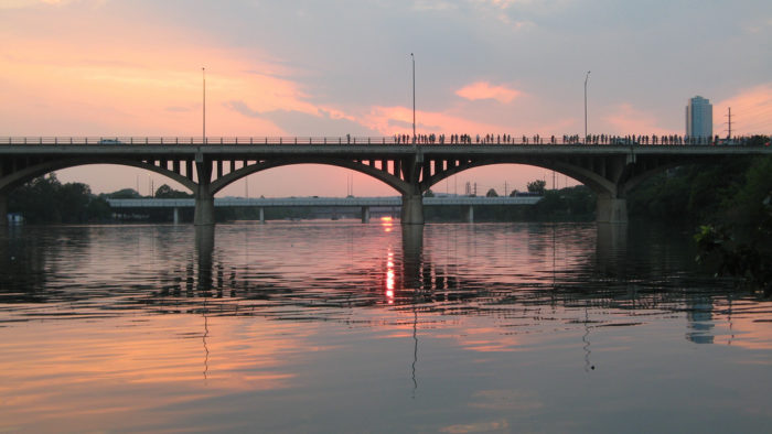 5. Congress Avenue Bridge (Austin)
