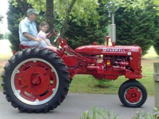 1. Driven a tractor before the age of five.