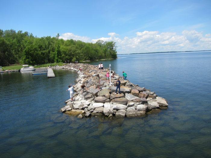 4.  Lake Champlain, Burton Island