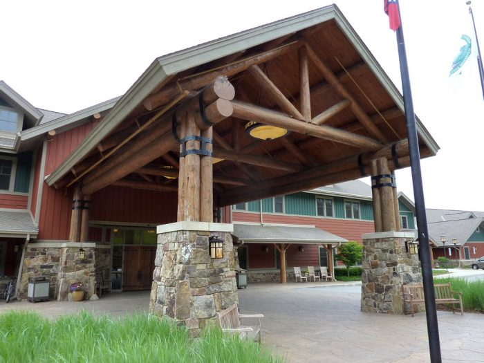 10. Stay the night at the lodge on Mount Magazine...