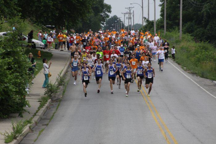 13. Run for a good cause.
