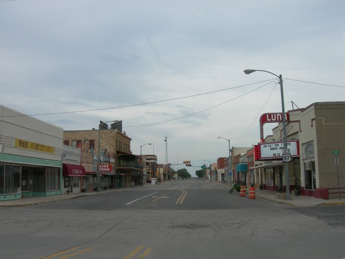 7. All of the small towns, each with their individual personalities