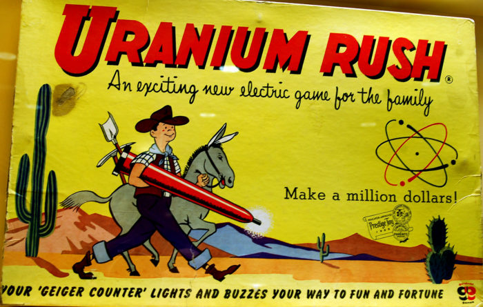 4.  The Oregon Uranium Rush.