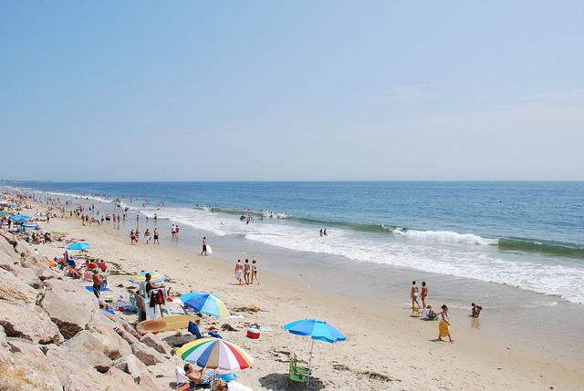 1. Visit your favorite beach!
