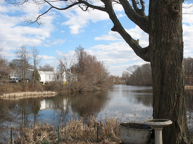 8. Warwick is yet another Rhode Island city with lovely ponds scattered throughout.