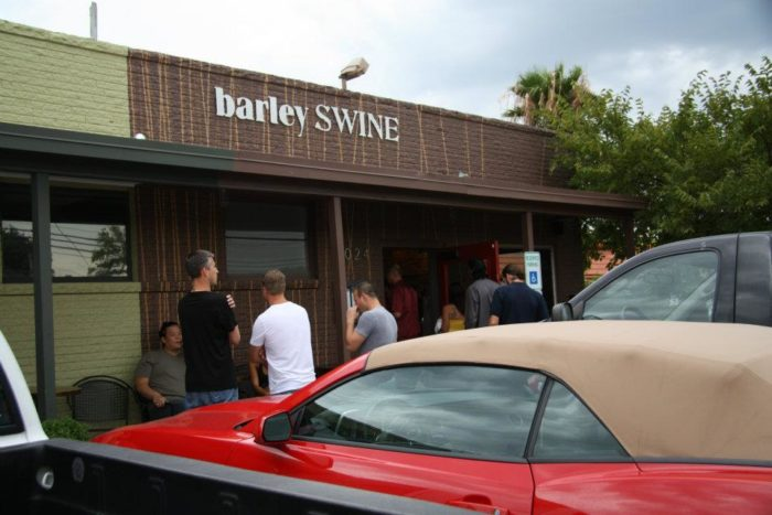 1. You would never expect to have some of the fancy and delicious dishes that you'll find here, at Barley Swine just by outside appearances!