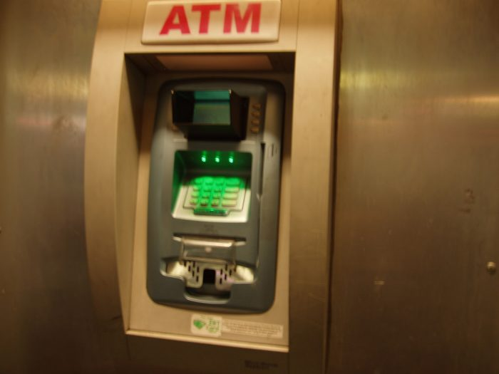 4. We were the first to install modern ATMs.