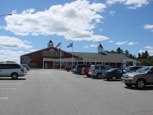 11. State liquor stores.