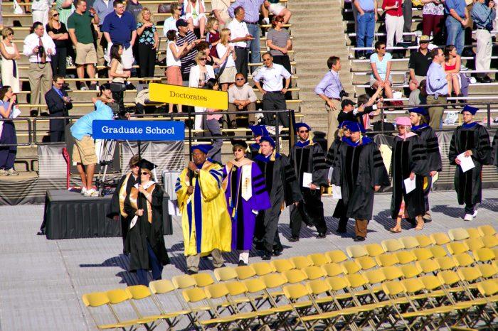 10. Most Colorado universities celebrated graduation last weekend.