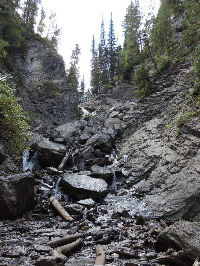 Easy Hike In Utah With A Waterfall